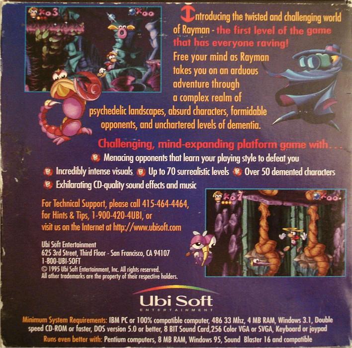 Rayman-Fanpage - All Rayman Games - Worldwide - USA