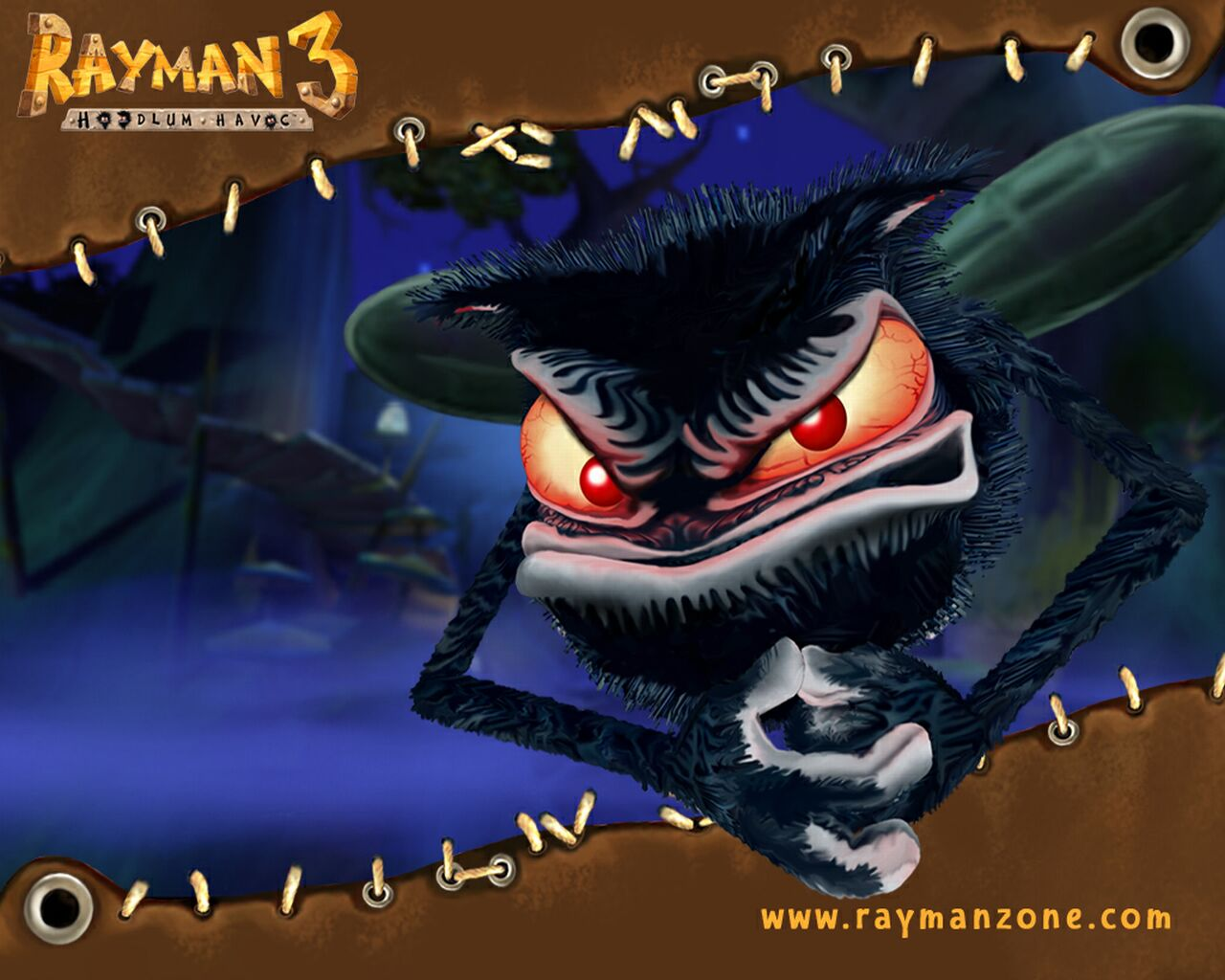 Rayman 3: Hoodlum Havoc video game wallpaper