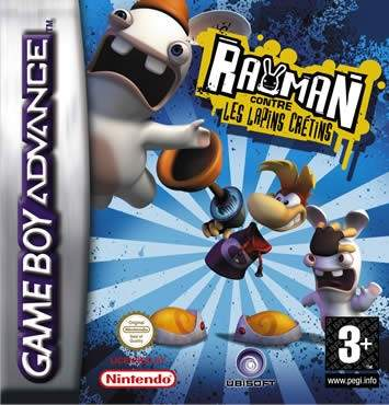 Rayman contre les Lapins Crétins GBA
